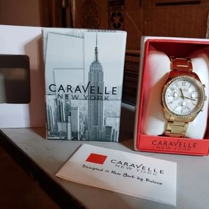 Caravelle New York by bulova watch